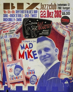 Club MIAOW! no. 13 – feat. MAD MIKE, Stompin' Johnson & Duke JensOmatic