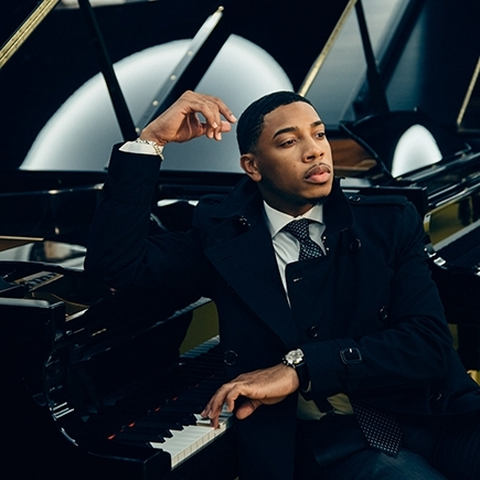 "BIX TOP ACT: Christian Sands Trio - ""Reach"""